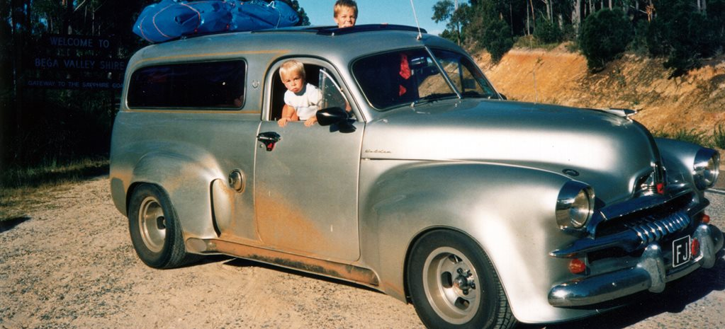 THE VAN THAT TIME FORGOT: NEIL DIECKMANN'S WILD FJ HOLDEN