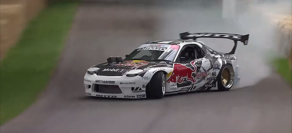 VIDEO: MAD MIKE SMOKES GOODWOOD WITH FOUR-ROTOR RX-7