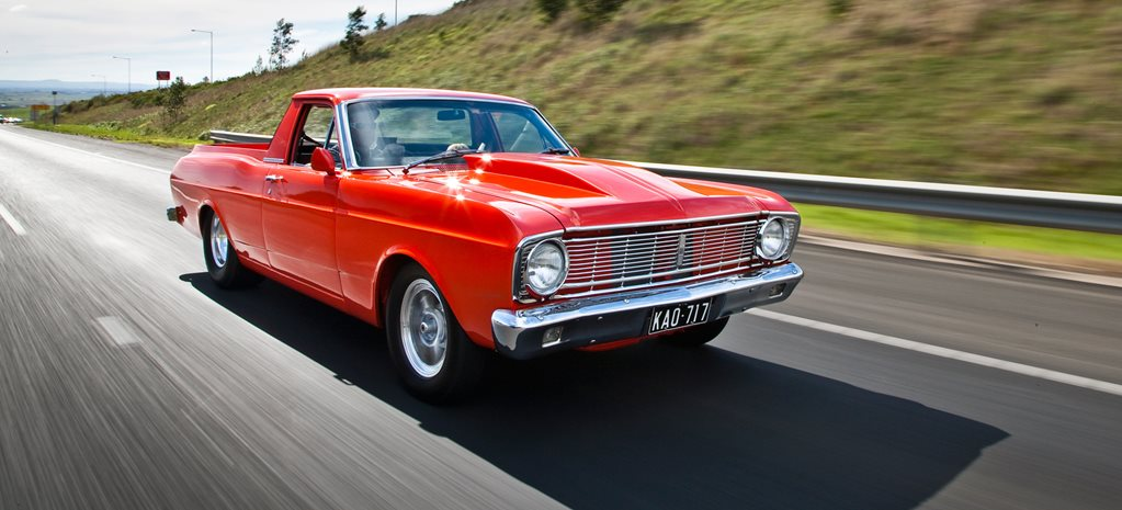 STUNNING 10.80-SECOND STREET TRIM XT FORD FALCON UTE