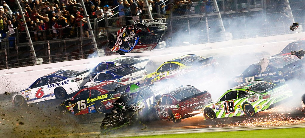 VIDEO: AUSTIN DILLON WALKS AWAY FROM HUGE NASCAR CRASH