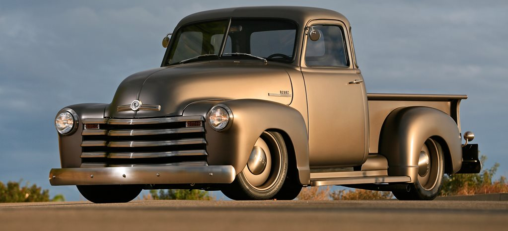 SUPERCHARGED LS-POWERED ICON '53 CHEVY PICK-UP IN CALIFORNIA