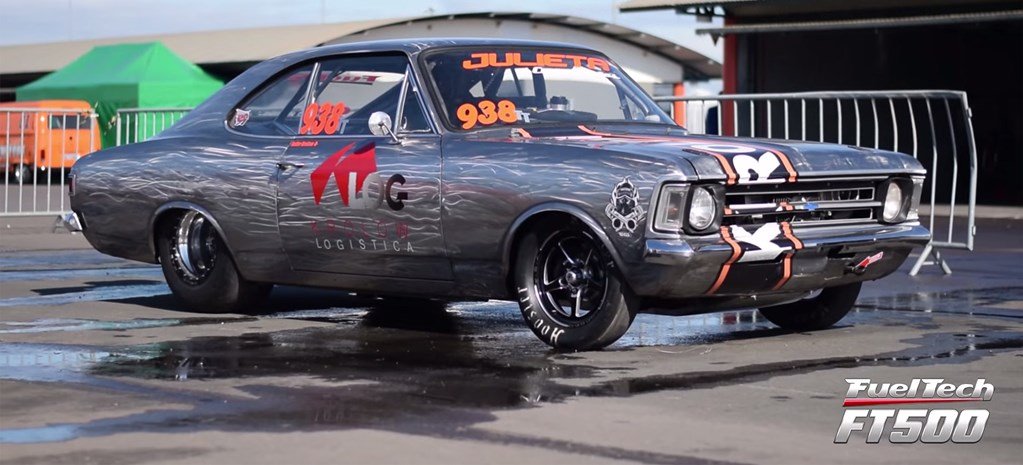 VIDEO: NITRO-POWERED CHEVROLET OPALA RUNS 7.98 IN BRAZIL