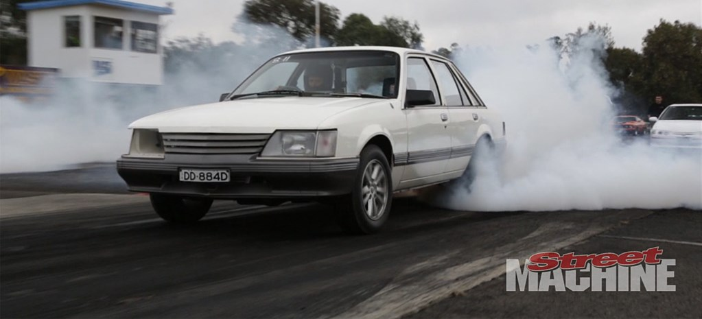 VIDEO: VK COMMODORE POWERED BY FOUR-LITRE FORD