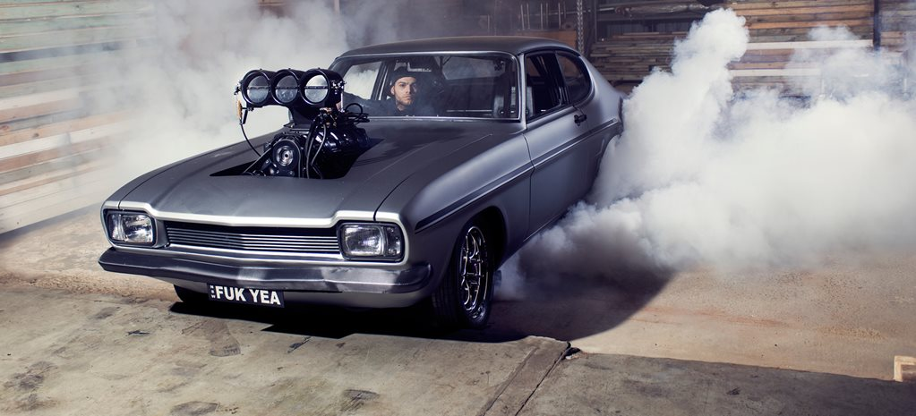 1100HP BLOWN FORD CAPRI STREETER