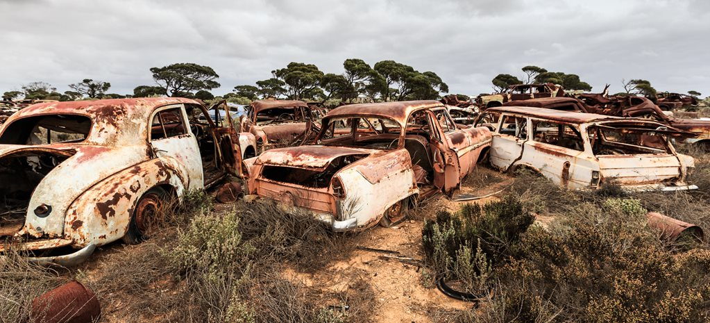 GALLERY: AUSTRALIA'S OUTBACK CAR GRAVEYARD