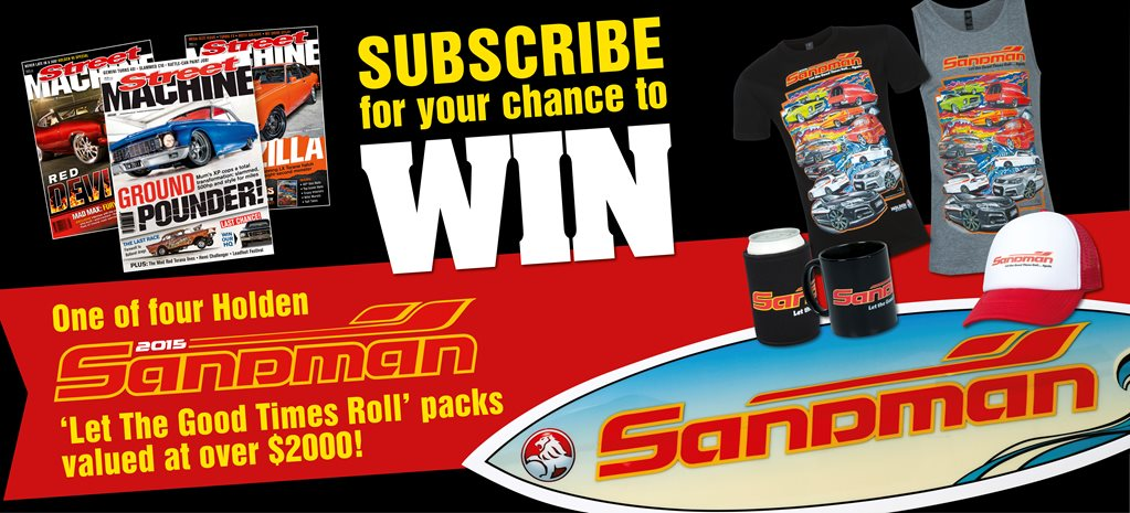 SUBSCRIBE AND WIN A SANDMAN PACK!