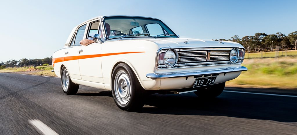 STEALTH BLOWN V8-POWERED 1970 FORD CORTINA