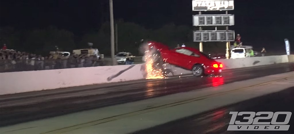 VIDEO: BRAND-NEW MUSTANG DRAG FAIL