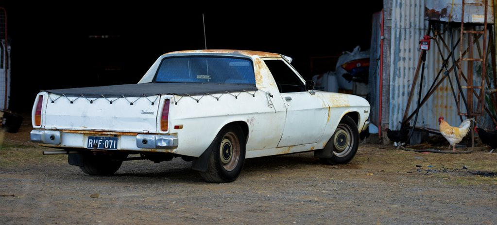 10-SECOND HOLDEN HQ FARM UTE: READER'S CAR OF THE WEEK