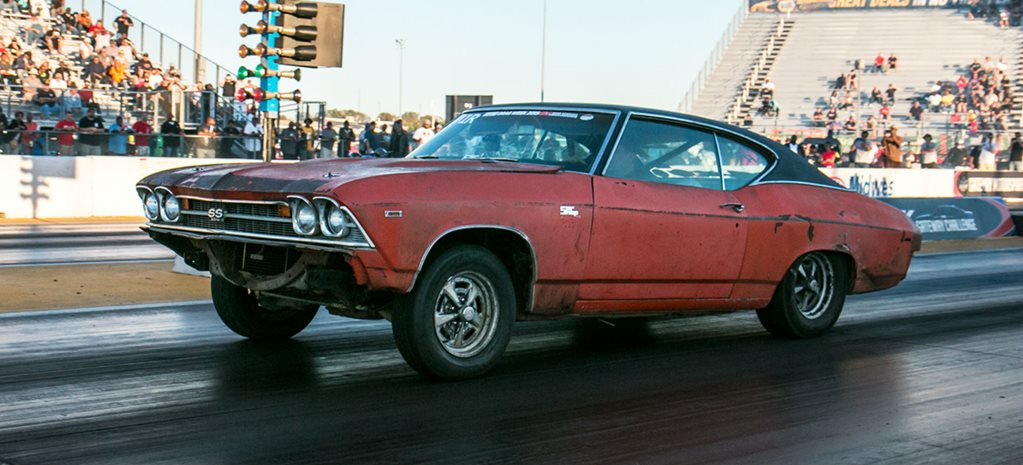 RAT ATTACK: AUSSIES TAKE ON DRAG WEEK WITH SHAGGED CHEVELLE