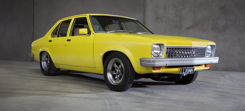 BOOSTED 308-POWERED HOLDEN LX TORANA
