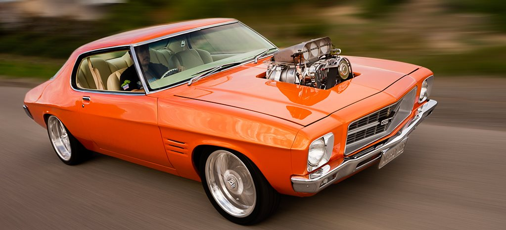SUPERCHARGED 1972 HOLDEN HQ MONARO COUPE