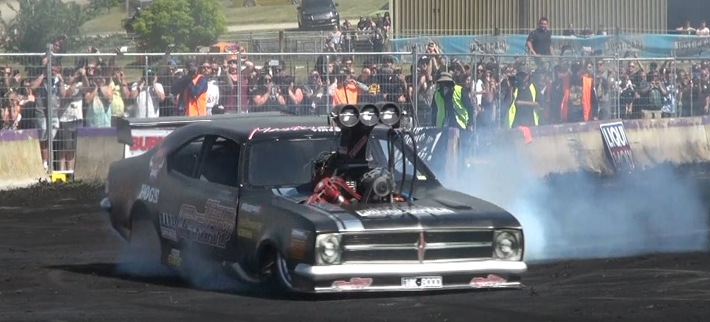 VIDEO: TOP FUEL BURNOUT AT TREAD CEMETERY