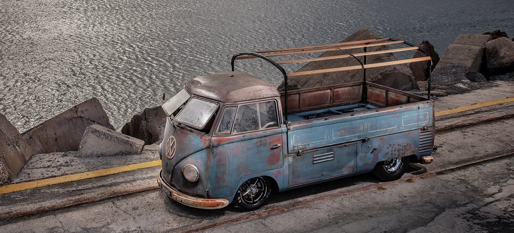 PHIL MIZZI'S BLOWN 1954 VW KOMBI