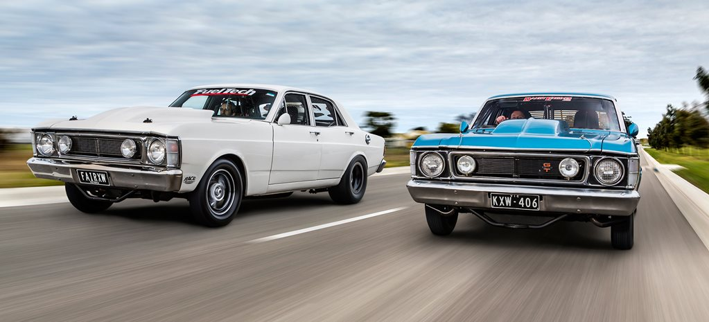 TWO SEVEN-SECOND FALCON XW STREETERS