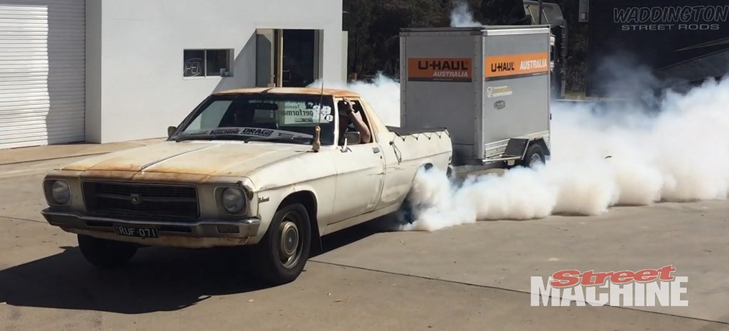VIDEO: THE FARM UTE AT DRAG CHALLENGE