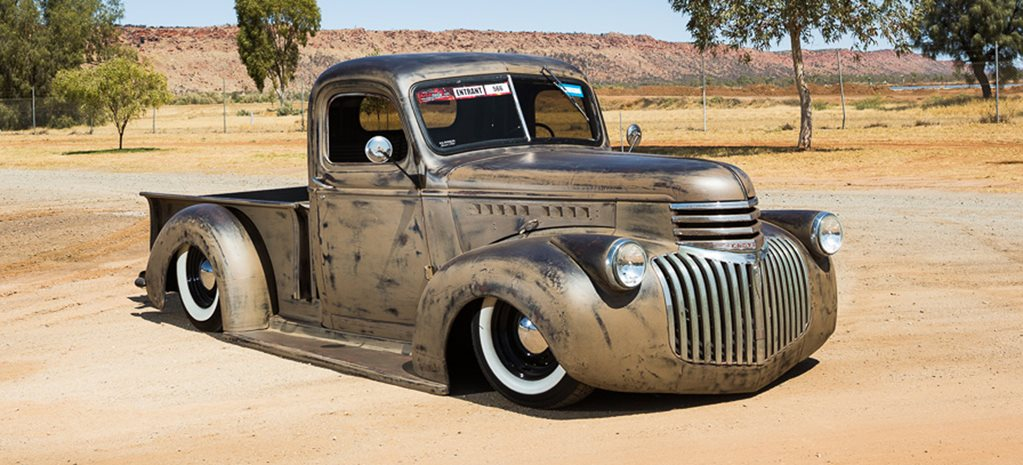 ROUGH AND SLAMMED SHOP TRUCK FROM DARWIN