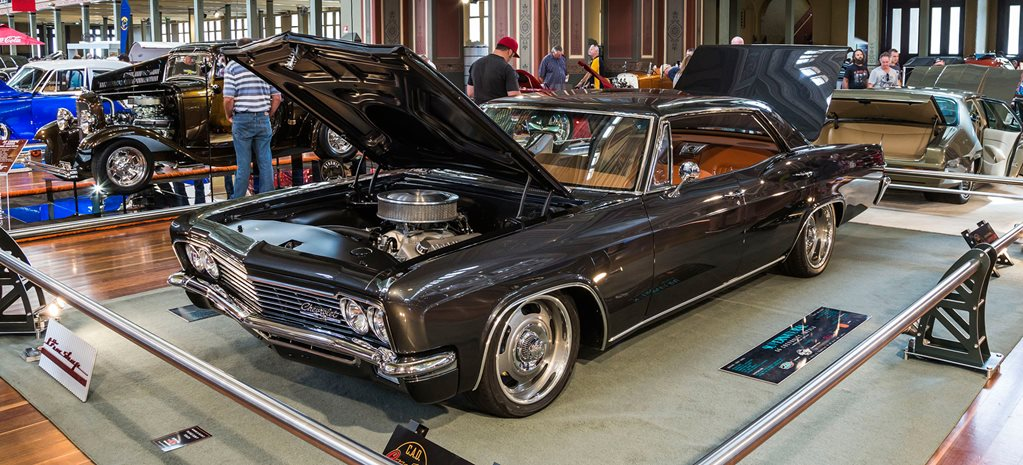 VIDEO: '66 IMPALA SEDAN AT THE VICTORIAN HOT ROD SHOW