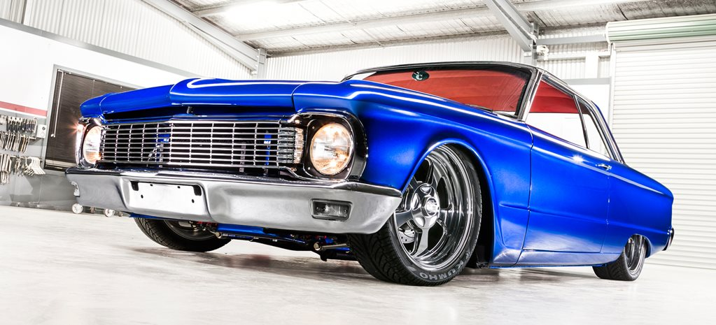 SLAMMED FORD XP FALCON COUPE