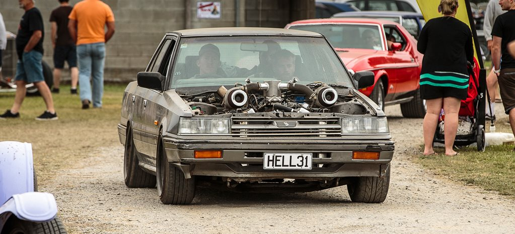 TWIN-TURBO CHEV-POWERED NISSAN SKYLINE RATTER