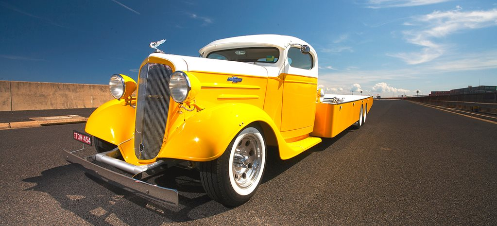 CHOPPED & BAGGED 1936 CHEV TRANSPORTER