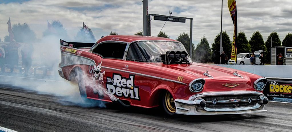 VIDEO: OUTLAW NITRO FUNNY CARS AT PORTLAND