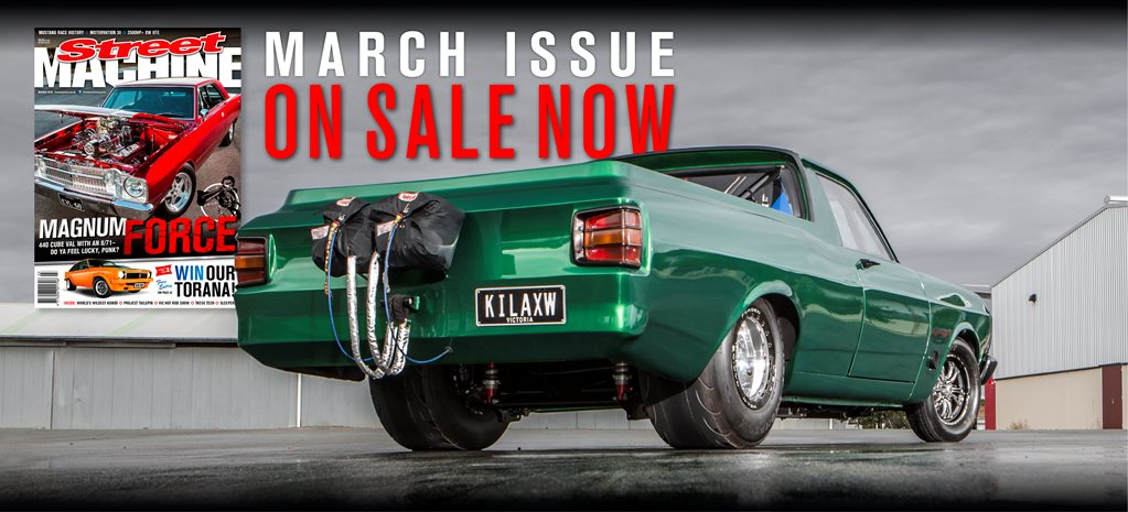STREET MACHINE: MARCH 2016