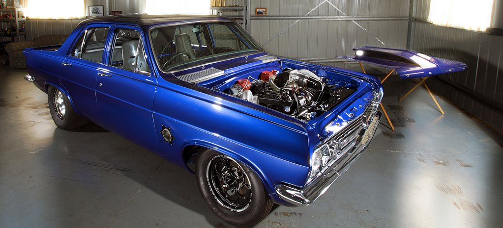 SEVEN-SECOND, TWIN TURBO HR HOLDEN