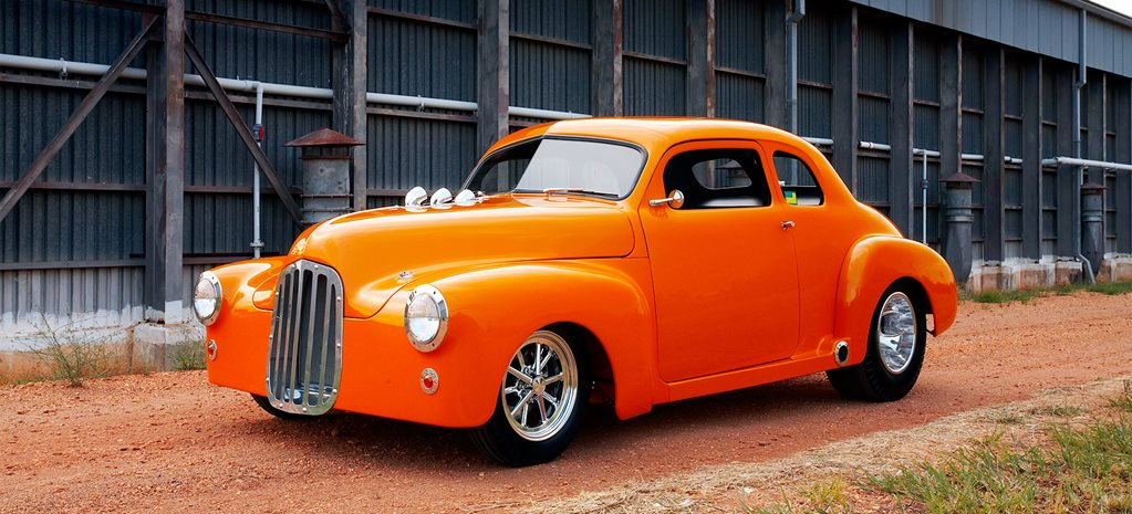 ROD & HUD JOHNSTON'S CUSTOM FJ HOLDEN
