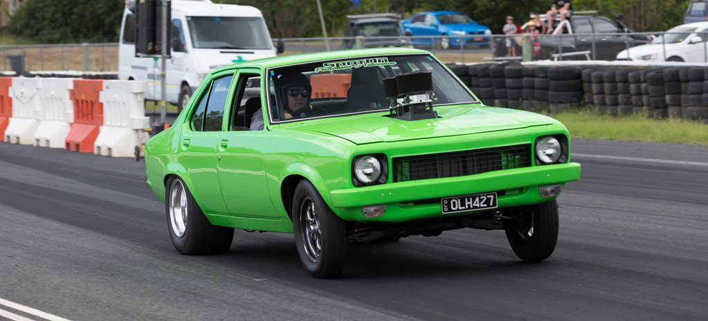 VIDEO: TOUGH 427-CUBE LH TORANA STREETER