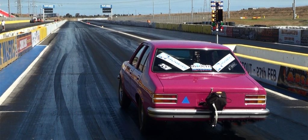 VIDEO: DRAG CHALLENGE-WINNING TORANA SHOOTS FOR SEVENS