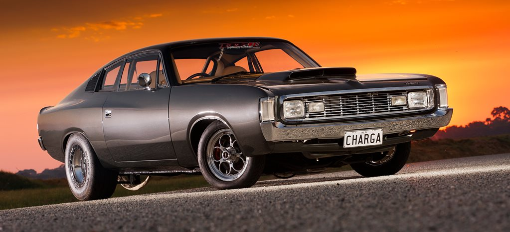 nitrous big block chrysler vh valiant charger