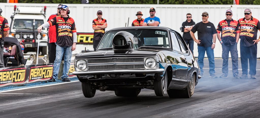 DRAGSTERS, PRO STREETERS AND STREET CARS AT PORTLAND - VIDEO