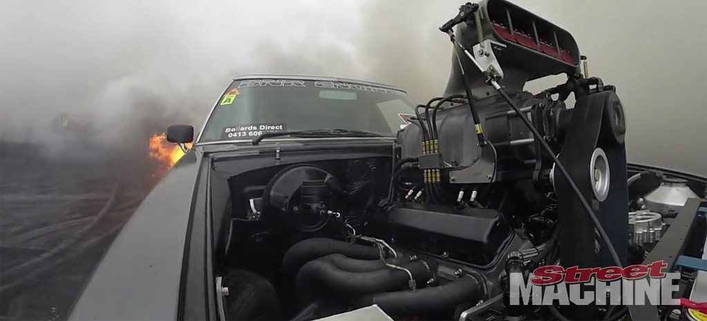 VIDEO: IMMORTAL HOLDEN UTE FIRES UP AT MOTORFEST