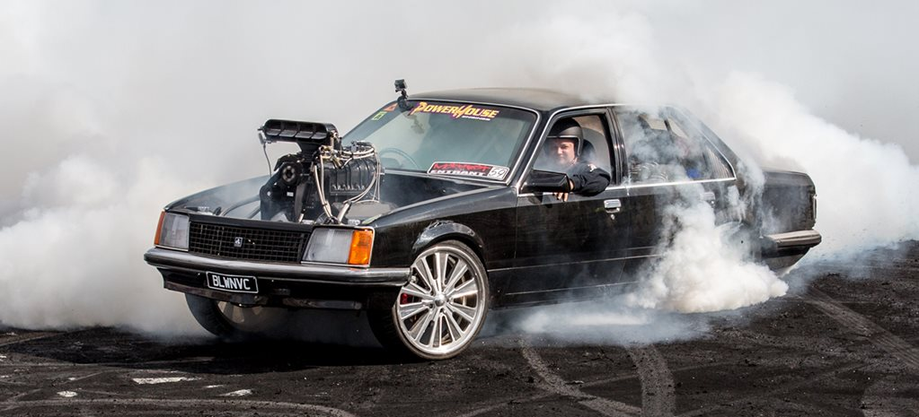 BLWNVC BLOWN AND INJECTED VC COMMODORE BURNOUT CAR – VIDEO