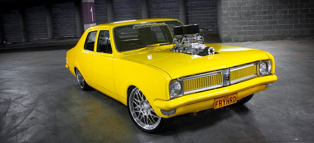 BLOWN CHEV-POWERED HG KINGSWOOD - FRYHRD