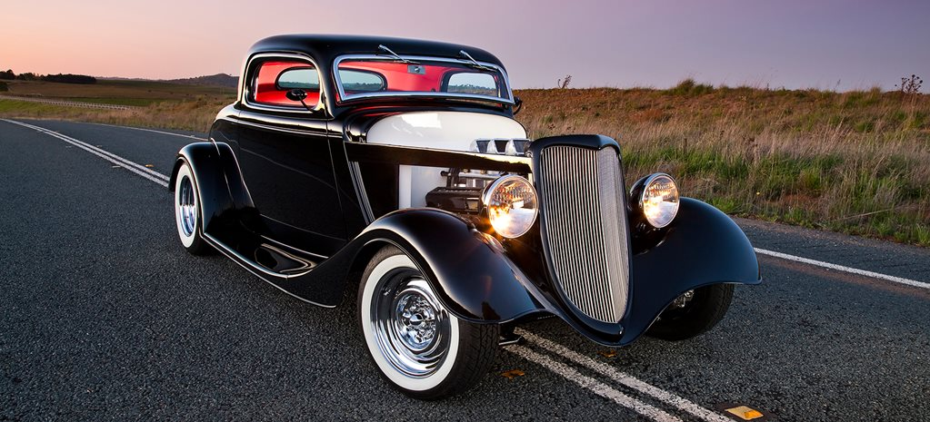 454CI 1934 FORD THREE-WINDOW COUPE