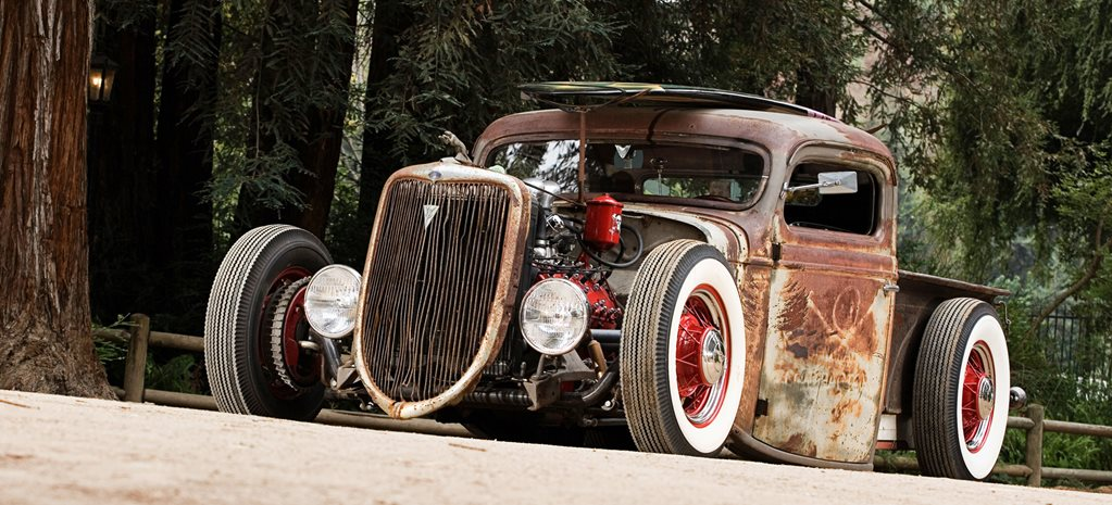 ZZ TOP'S BILLY GIBBONS '36 FORD RAT ROD