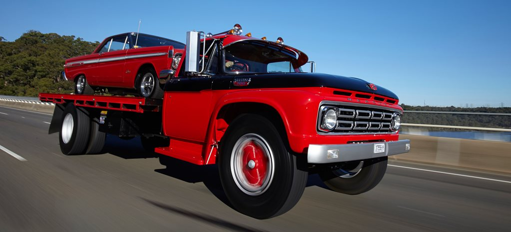 '64 MERCURY COMET AND MERCURY M700 CAR-AND-TRUCK COMBO