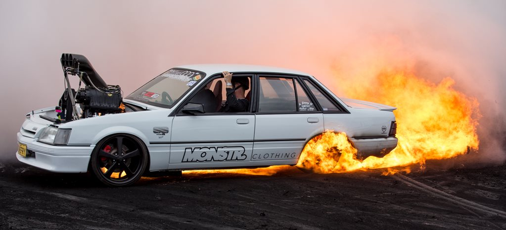 WHEN BURNOUTS GO BAD – VIDEO