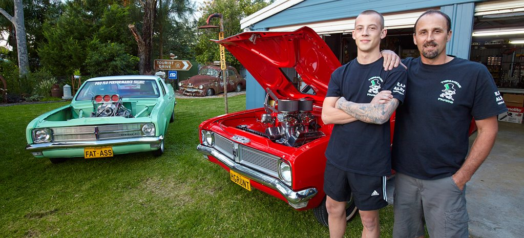 PETE ROBINS' ULTIMATE PETROL HEAD BACKYARD - MY SHED