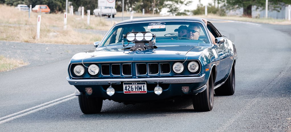 '71 PLYMOUTH 'CUDA WITH BLOWN 472-CUBE HEMI – VIDEO