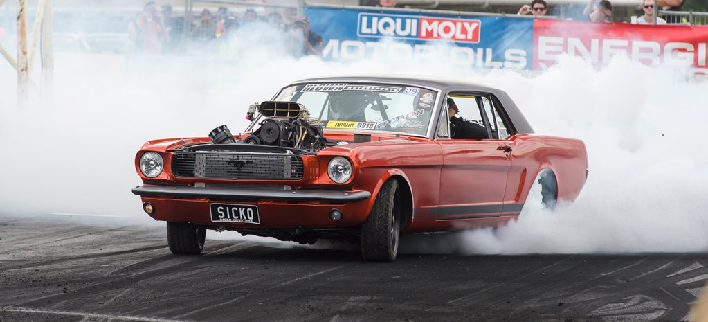 AUSTRALIA'S YOUNGEST BURNOUT MASTERS CONTENDER, JAKE MYERS - VIDEO