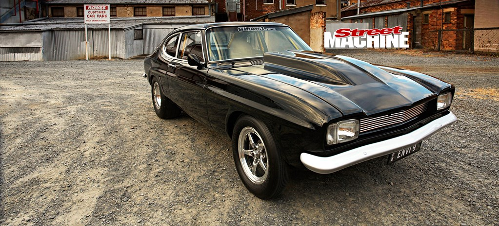 SEVEN-SECOND FORD CAPRI WITH 420CI TURBO SMALL-BLOCK