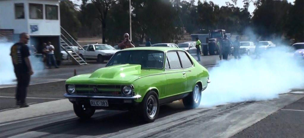 TEN-SECOND 383-CUBE LC TORANA GTR - VIDEO
