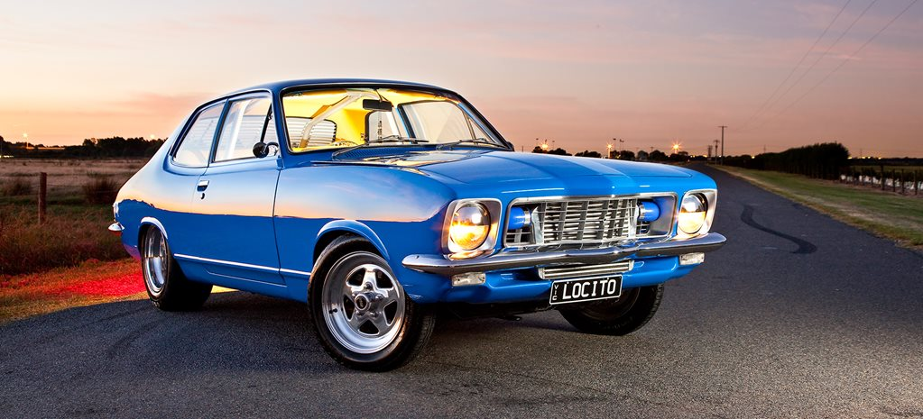 HOLDEN LJ TORANA COUPE STREETER WITH A TURBO SIX