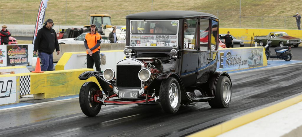 THIS WHEELSTANDING 1922 T-MODEL SEDAN IS CRAZY - VIDEO