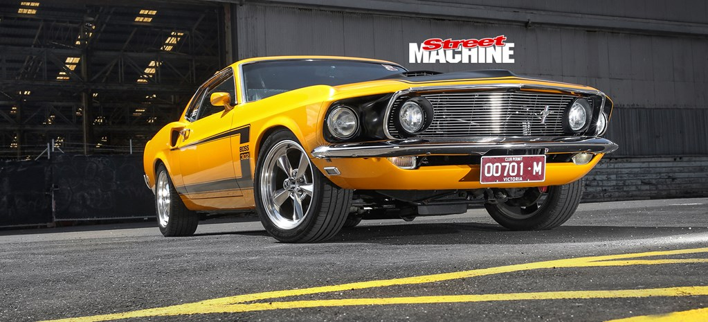 RESTOMOD PRO TOURER 1969 FORD MUSTANG FASTBACK