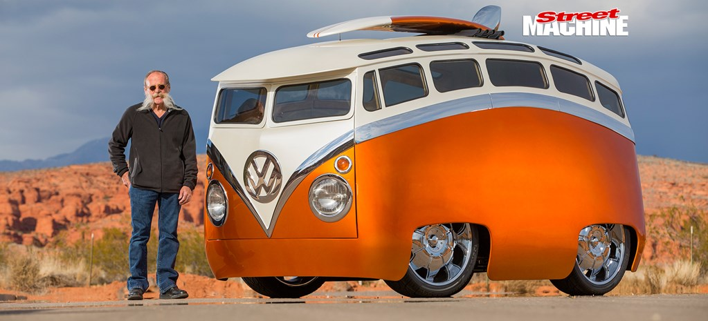 RON BERRY'S 'SURF SEEKER' CUSTOM VW KOMBI BUS