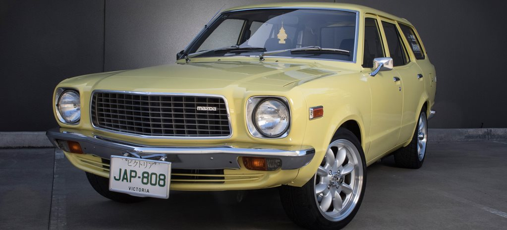MAZDA 808 WAGON WITH 13B ROTARY - READER'S CAR OF THE WEEK